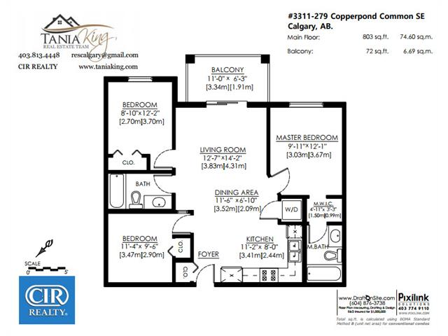 #3311 279 COPPERPOND CM SE - Copperfield Lowrise Apartment for sale, 2 Bedrooms (C4010773) #3